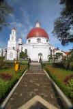 Blenduk-Kirche Semarang Lizenzfreie Stockfotografie