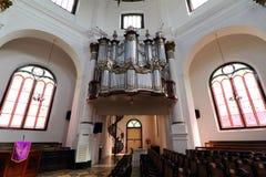 Blenduk-Kirchen-Semarang-Innenraum Lizenzfreie Stockbilder