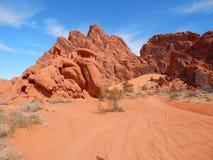 Blendungs-Dünen in Nevada Lizenzfreie Stockfotografie