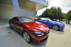Blendungs-Farben von BMW Stockfotos