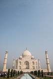 Blendungs-Schönheit von Taj Mahal Stockbilder