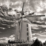 Blenerville windmill in Ireland. Royalty Free Stock Images