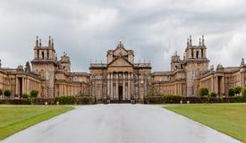 Blenheim宫殿英国 免版税库存照片