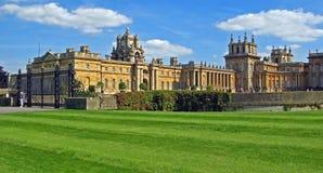 Blenheim宫殿- Marlborough庄园 免版税库存图片