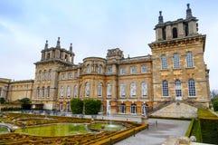 Blenheim pałac - kraj nieruchomość lokalizować w Blenheim, Oxfordshire, Anglia Jako jedyna łatwość ten pisać na maszynie wewnątrz obrazy royalty free