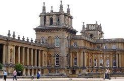 Blenheim pałac w Anglia Obrazy Royalty Free