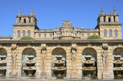 Blenheim Palace from Below Royalty Free Stock Image