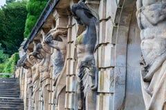 Blenheim Palace England stock images