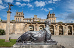 Blenheim palace, England Royalty Free Stock Photos