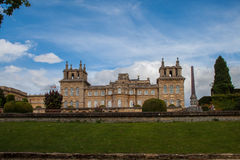 Blenheim palace, England Royalty Free Stock Image