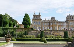 Blenheim Palace garden in England Royalty Free Stock Image