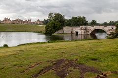 Blenheim Palace Gardens England Stock Photography