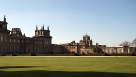 Blenheim Palace and grounds Stock Photo