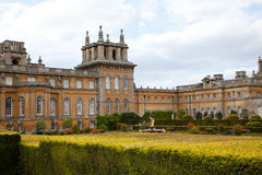 Blenheim Palace from the rear Stock Image