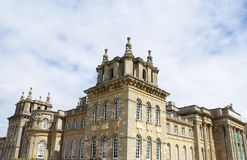Blenheim Palace in Woodstock, Oxfordshire, England, Europe Royalty Free Stock Photo