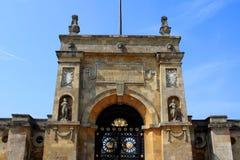 Blenheim-Palast, England Stockfotografie