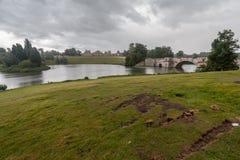 Blenheim-Palast England Lizenzfreie Stockfotos