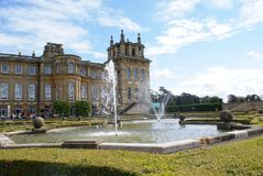 Blenheim-Palast in England Stockfotos