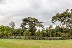 Blenheim-Palast-Gärten England Stockbilder