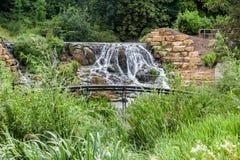 Blenheim-Palast-Gärten England Stockfoto