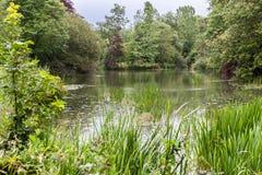 Blenheim-Palast-Gärten England Lizenzfreie Stockfotografie