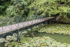 Blenheim-Palast-Gärten England Lizenzfreies Stockfoto