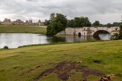 Blenheim-Palast-Gärten England Stockfotografie