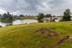 Blenheim-Palast-Gärten England Stockfotos
