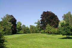 Blenheim Palast. Garten. Lizenzfreies Stockbild