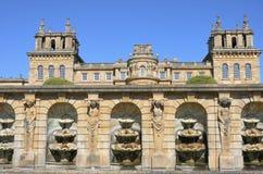 Blenheim-Palast von unterhalb Lizenzfreies Stockbild
