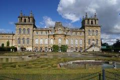 Blenheim-Palastbrunnen u. -garten in Woodstock, England Lizenzfreie Stockfotografie