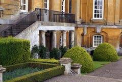 Blenheim-Palastdetails, England Lizenzfreies Stockfoto