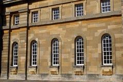 Blenheim-Palastfenster Lizenzfreie Stockfotografie