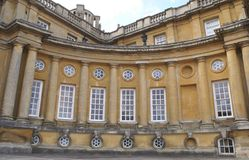 Blenheim-Palastfenster in England Stockbilder