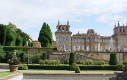 Blenheim-Palastgarten in England Lizenzfreies Stockbild