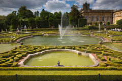 Blenheim Place gardens Royalty Free Stock Photo