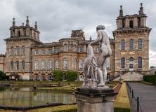 Blenheim slott England Royaltyfri Fotografi