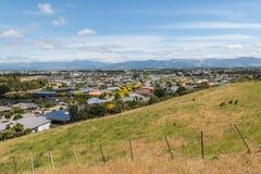 Blenheim-Stadt in Neuseeland Lizenzfreie Stockfotografie