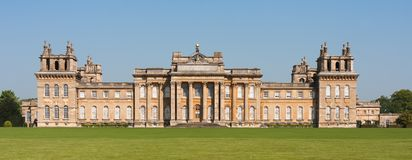 Blenheimpaleis, Oxford royalty-vrije stock fotografie