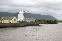 Blennervill-Windmühle Co kerry Lizenzfreies Stockfoto