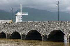 Blennerville wiatraczek republika Irlandia - okręg administracyjny Kerry - Obraz Stock