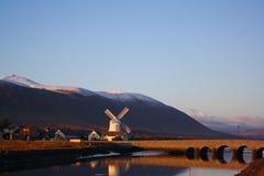 Blennerville Windmühle Lizenzfreies Stockfoto