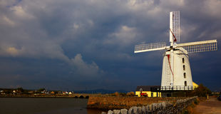 Blennerville windmill. Near Tralee in county Kerry, Ireland Royalty Free Stock Photos
