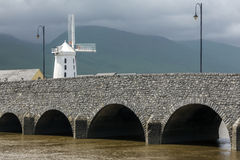 Blennerville Windmill - County Kerry - Republic of Ireland stock image
