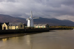 Blennerville Windmill. Tralee. Ireland. Royalty Free Stock Photos