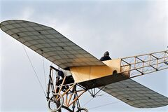 Bleriot airplane Royalty Free Stock Photo