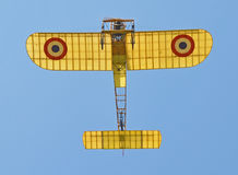 Bleriot XI. Historic plane on a blue sky - Bleriot XI Stock Photos