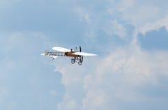Bleriot XI vliegtuig Stock Afbeeldingen
