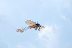 Bleriot XI vliegtuig Royalty-vrije Stock Afbeelding