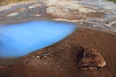 Blesi - heiße Quelle in Island Stockfoto
